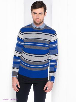 Джемпер Henry Cotton's. Цвет: синий, темно-серый