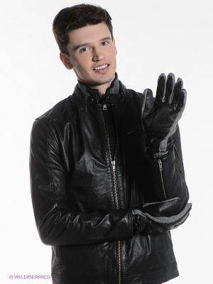 Перчатки DUNN GAS. Цвет: серый, черный