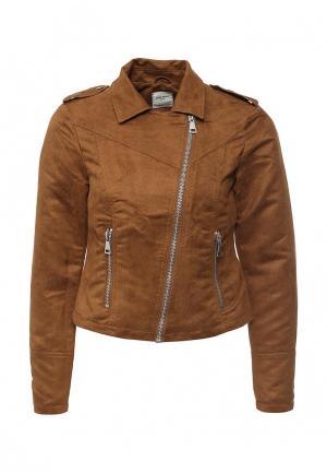 Куртка Vero Moda. Цвет: коричневый