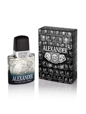 Т/в Alexander муж 100 мл Parfums Louis Armand. Цвет: голубой