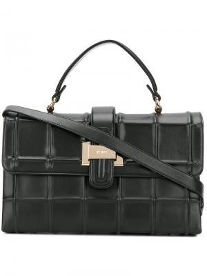 Прямоугольная сумка-тоут Rodo. Цвет: чёрный