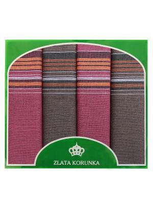 Платок носовой ZLATA KORUNKA. Цвет: малиновый