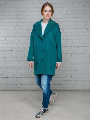 Пальто Julia Ivanova. Цвет: зеленый