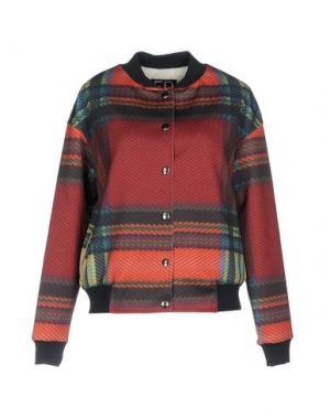 Куртка ED 2.0. Цвет: красно-коричневый