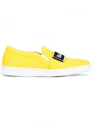 Кеды Be Like Kendall Joshua Sanders. Цвет: жёлтый и оранжевый