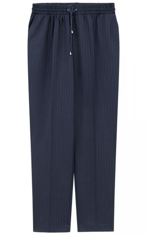 Текстильные брюки на резинке La reine blanche