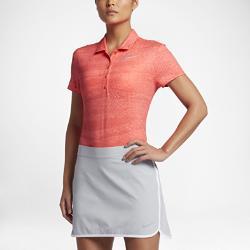Женская рубашка-поло для гольфа  Precision Nike. Цвет: оранжевый