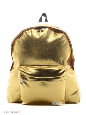 Рюкзак золотистый Metallic Kawaii Factory. Цвет: золотистый