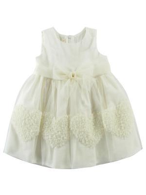 Платье CEREMONY. Цвет: белый