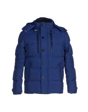 Куртка DAVID NAMAN. Цвет: синий