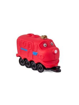 Chuggington паровозик в блистере Уилсон. Цвет: красный