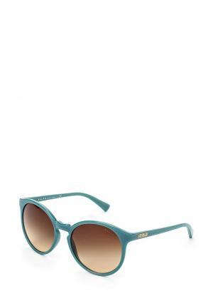 Очки солнцезащитные Ralph Lauren. Цвет: бирюзовый
