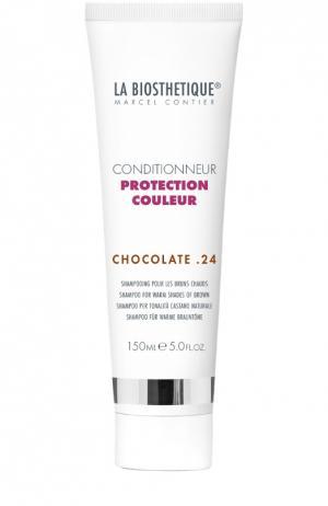Кондиционер для окрашенных волос (тёплые коричневые оттенки) La Biosthetique. Цвет: бесцветный