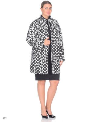 Пальто Electrastyle. Цвет: черный, белый