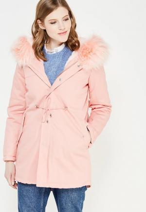 Куртка утепленная K.Zell. Цвет: розовый