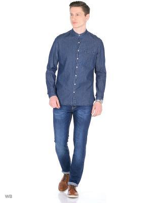 Рубашка - MAOSE MANGO MAN. Цвет: темно-синий