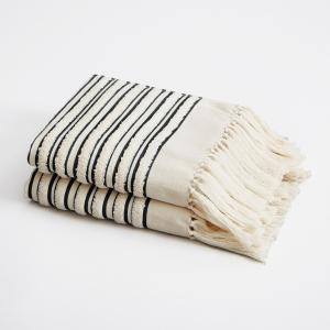 Полотенце  Kupigwa By V. Barkowski (x2) AM.PM.. Цвет: серый,черный,ягодный потертый
