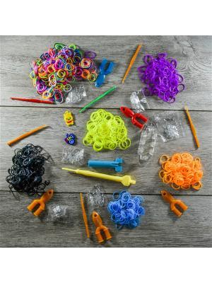 Подарочный набор резинок для плетения. 1700 Loom Bands. Цвет: прозрачный
