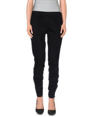 Повседневные брюки PURE. Цвет: черный
