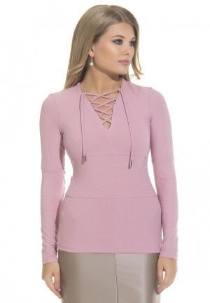 Пуловер Gloss. Цвет: розовый