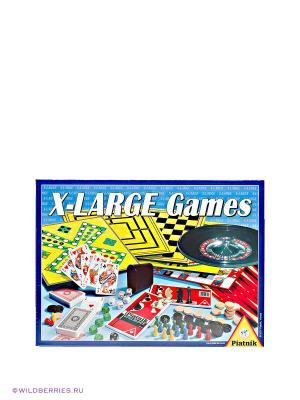 Игровой набор X-LARGE Piatnik. Цвет: желтый, красный