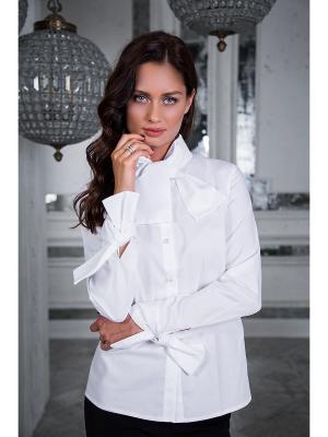 Блузка Вестетика. Цвет: белый