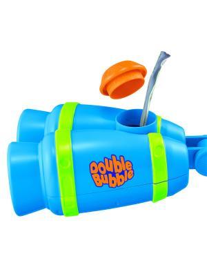 Автоматическая установка по созданию мыльных пузырей Выхлопная труба HTI. Цвет: голубой, оранжевый, зеленый