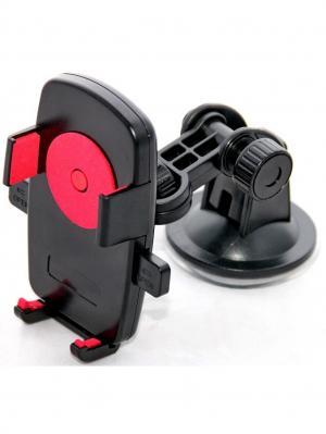 Держатель телефона/смартфона на вентиляцию WIIIX. Цвет: черный, красный