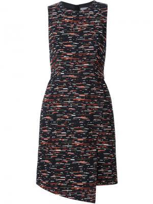 Твидовое платье без рукавов Grey Jason Wu. Цвет: чёрный