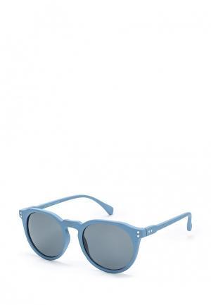Очки солнцезащитные Topman. Цвет: голубой