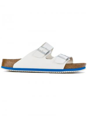 Arizona sandals Birkenstock. Цвет: белый