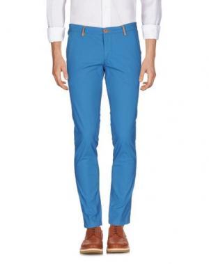 Повседневные брюки DIMATTIA. Цвет: пастельно-синий