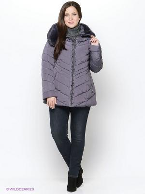 Куртка Vlasta. Цвет: серый, серый меланж