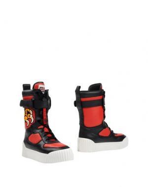 Полусапоги и высокие ботинки MARC BY JACOBS. Цвет: красный