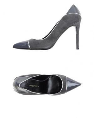Туфли SANDRO VICARI. Цвет: свинцово-серый