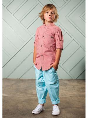 Рубашка Abbey GemKids. Цвет: коралловый