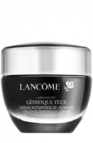 Крем-активатор молодости для кожи вокруг глаз Génifique Yeux Lancome. Цвет: бесцветный