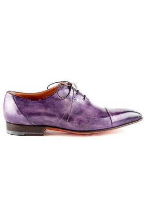 Туфли Santoni. Цвет: purple