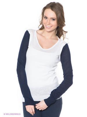 Пуловер Neohit. Цвет: белый, темно-синий