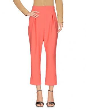 Повседневные брюки ALEX VIDAL. Цвет: коралловый