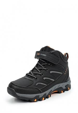Ботинки трекинговые Strobbs. Цвет: черный
