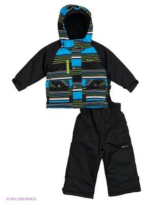 Комплект одежды Gusti. Цвет: черный, синий