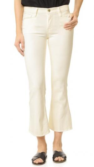 Укороченные джинсы Inez St. Tropez FRAME. Цвет: сизый