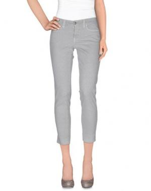 Повседневные брюки S.O.S by ORZA STUDIO. Цвет: светло-серый