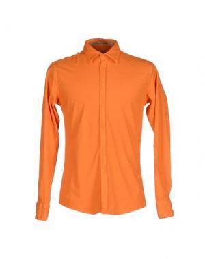 Pубашка YES ZEE BY ESSENZA. Цвет: оранжевый