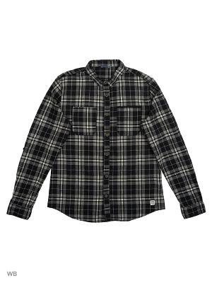 Рубашка Reserved. Цвет: черный