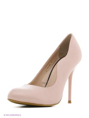 Туфли Moda Donna. Цвет: розовый