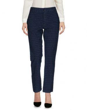 Повседневные брюки LOCAL APPAREL. Цвет: грифельно-синий