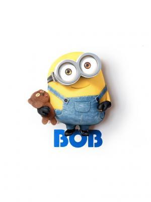 Пробивной мини 3D светильник Minions-Bob (Боб) Minions. Цвет: черный, серо-голубой, терракотовый, серебристый, желтый, белый
