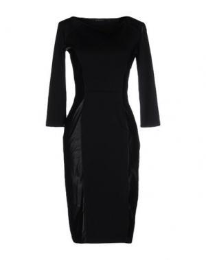Платье до колена FISICO-CRISTINA FERRARI. Цвет: черный
